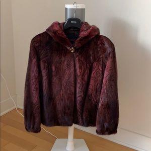 Mink coat size S